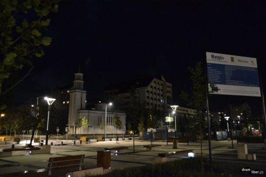 În centrul orașului Miercurea Ciuc