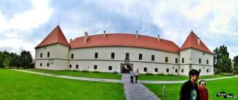 Panoramică la Castelul Miko - Muzeul Secuiesc al Ciucului