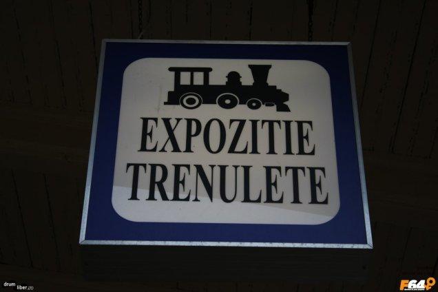 Expoziție de trenulețe la Sinaia