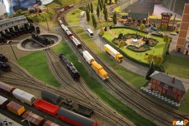 Tren în deplasare