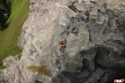 Alpinist cățărător