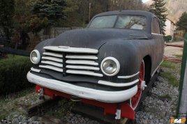 Mașina pe cale ferată folosită de Ana Pauker