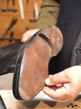 Detaliu la cizme
