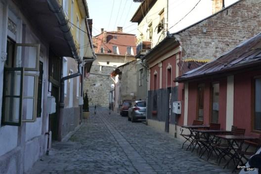 străduțe ale Clujului