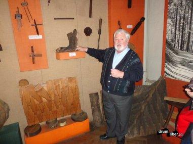 La Muzeul Arta Lemnului - Câmpulung Moldovenesc