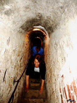 La Castelul Bran, în Tunelul Secret