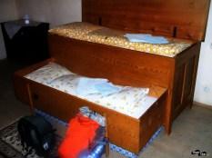 Patul săsesc în care am dormit