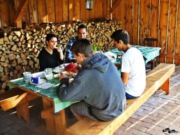 Micul dejun la Mălâncrav