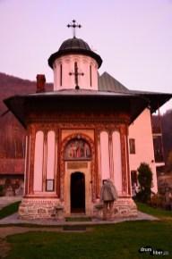 Biserica veche de la Mănăstirea Turnu, Vâlcea