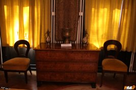 Vedere din casa memorială Enescu