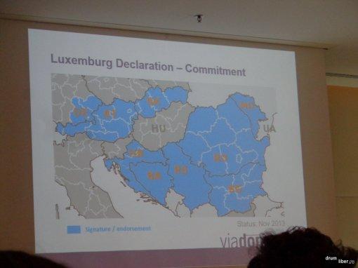Declarația de la Luxembourg - țările implicate