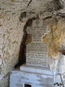 În chilia lui Dimitrie cel Nou, acum biserică