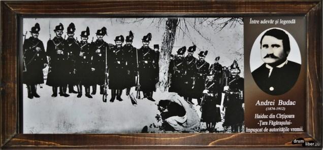 Andrei Budac, haiduc din Cârțișoara împușcat de autoritățile vremii (1912)