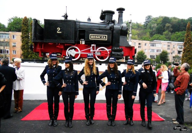 Locomotiva Resicza și fetele