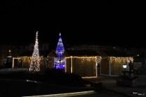 Decorațiuni de iarnă în Suceava