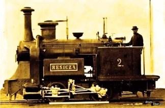 Locomotiva cu numărul 2 - Resicza, prima locomotivă fabricată în România