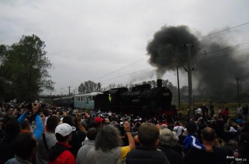 Mult asteptata sosire a trenului regal la Reșița