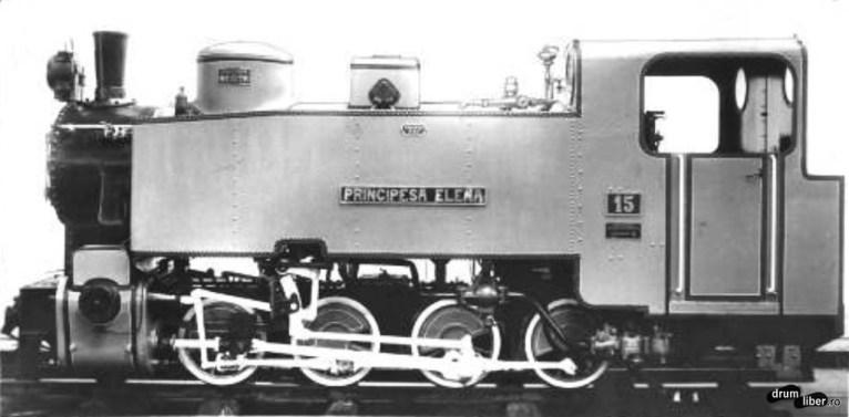 Locomotiva Principesa Elena - 1925 (perechea locomotivei Princepele Carol)