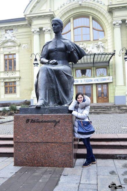 Statuia Olga Kobyleanska