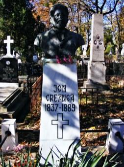 Drumul lui Creagă se sfârșește la Iași, în cimitirul Eternitatea