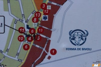 Panouri cu harta și informații turistice