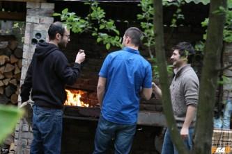 Se pregătea grătarul la Hostel Costel din Timișoara