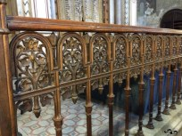 Interior la Sinagoga din Cetate
