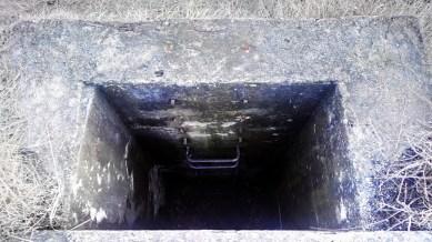 Una dintre scările de acces