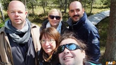 Grupul minune care a vizitat Tinovul Fântâna Brazilor