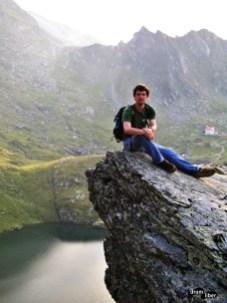 Lacul Bâlea vazut de sus