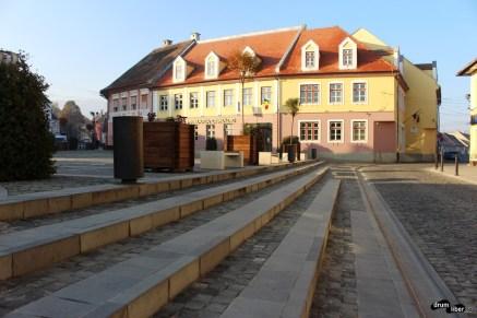 În centru la Cisnădie