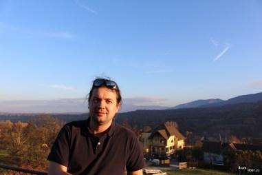 Eu la cursul ținut la Cisnădioara