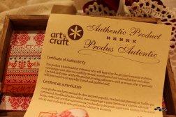 Artizanat: certificat de autenticitate