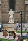 Cea mai veche statuie din Timișoara, Nepomuk
