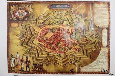 Herta cetății Timișoara în stil Vauban
