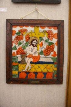 Simbolul Împărtășaniei - vița de vie