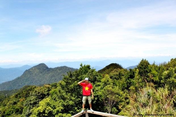 Cảnh nhìn từ Vọng Hải Đài.