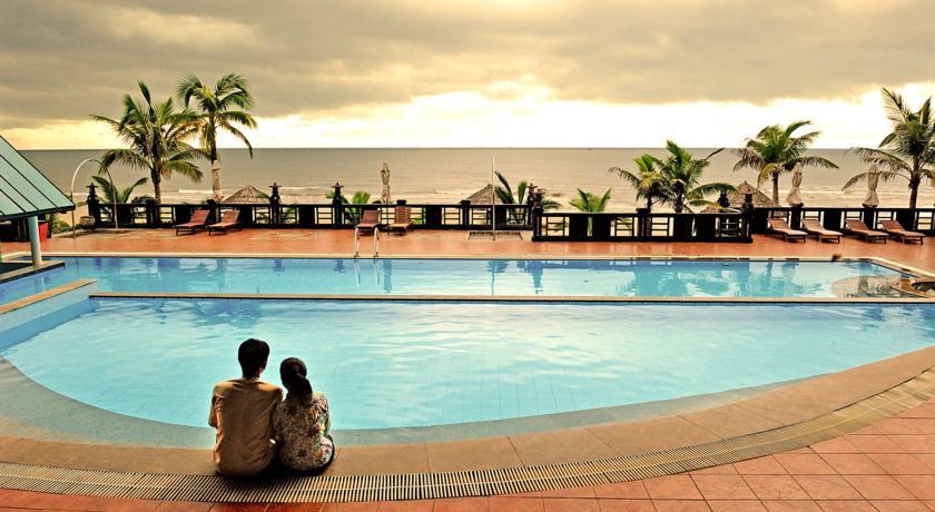 Tropicana Beach Resort.