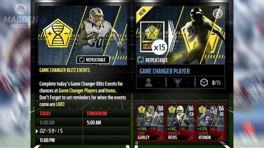 Madden 17 Mobile Update
