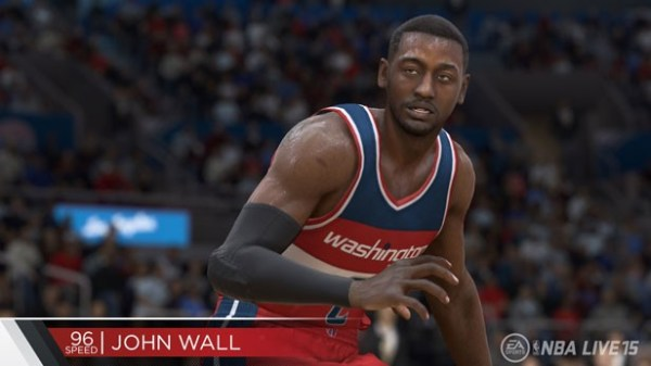 Fastest Players in NBA LIVE 15