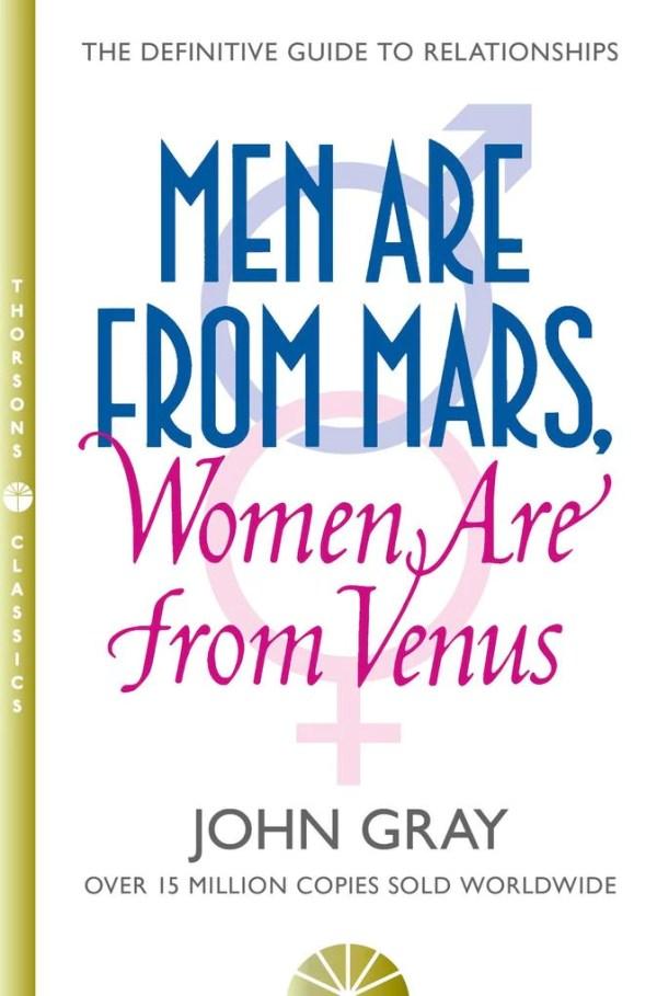 John Gray: Men are from Mars, Women are from Venus ...