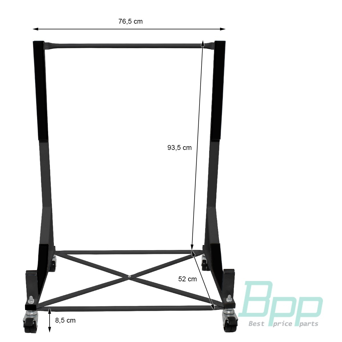 Hardtop Stand Trolley Hood Support Rigid Protective Cover