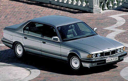Used 1990 Bmw 7 Series Sedan Pricing For Sale Edmunds
