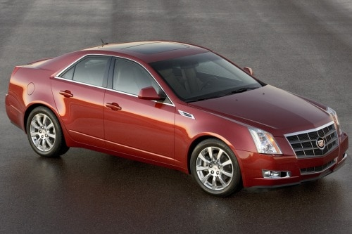 Used 2008 Cadillac Cts Pricing For Sale Edmunds