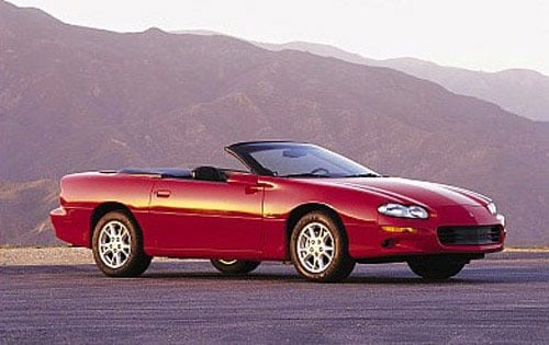 Used 2001 Chevrolet Camaro Convertible Pricing For Sale