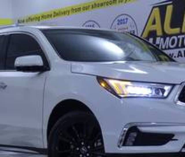 Acura Mdx Advance Package In Off White Cream