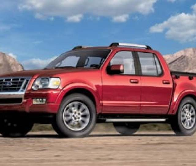 Used 2007 Ford Explorer Sport Trac Xlt Crew Cab Review