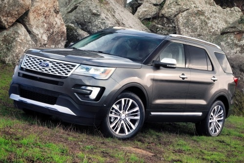 used 2016 ford explorer platinum suv