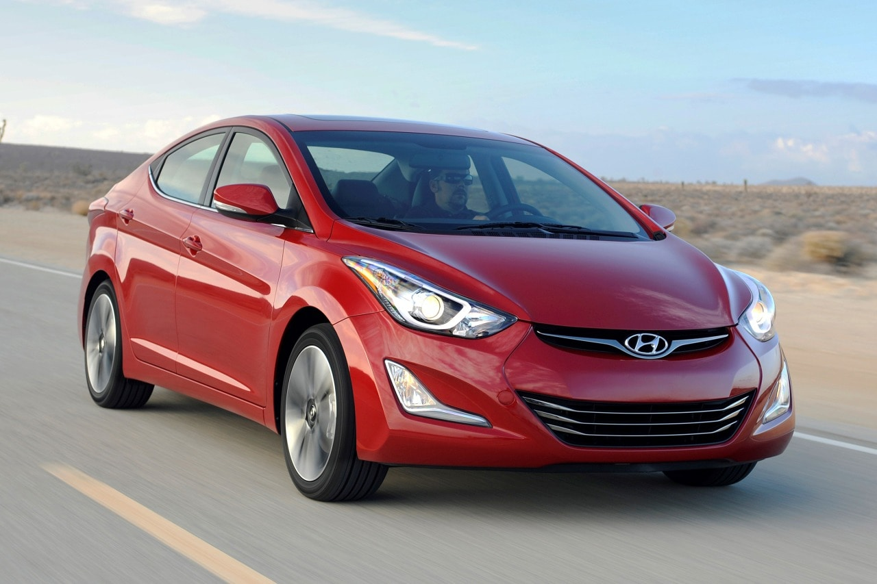 The base gls sedan gains larger wheels and a blind spot mirror. Used 2014 Hyundai Elantra for sale - Pricing & Features