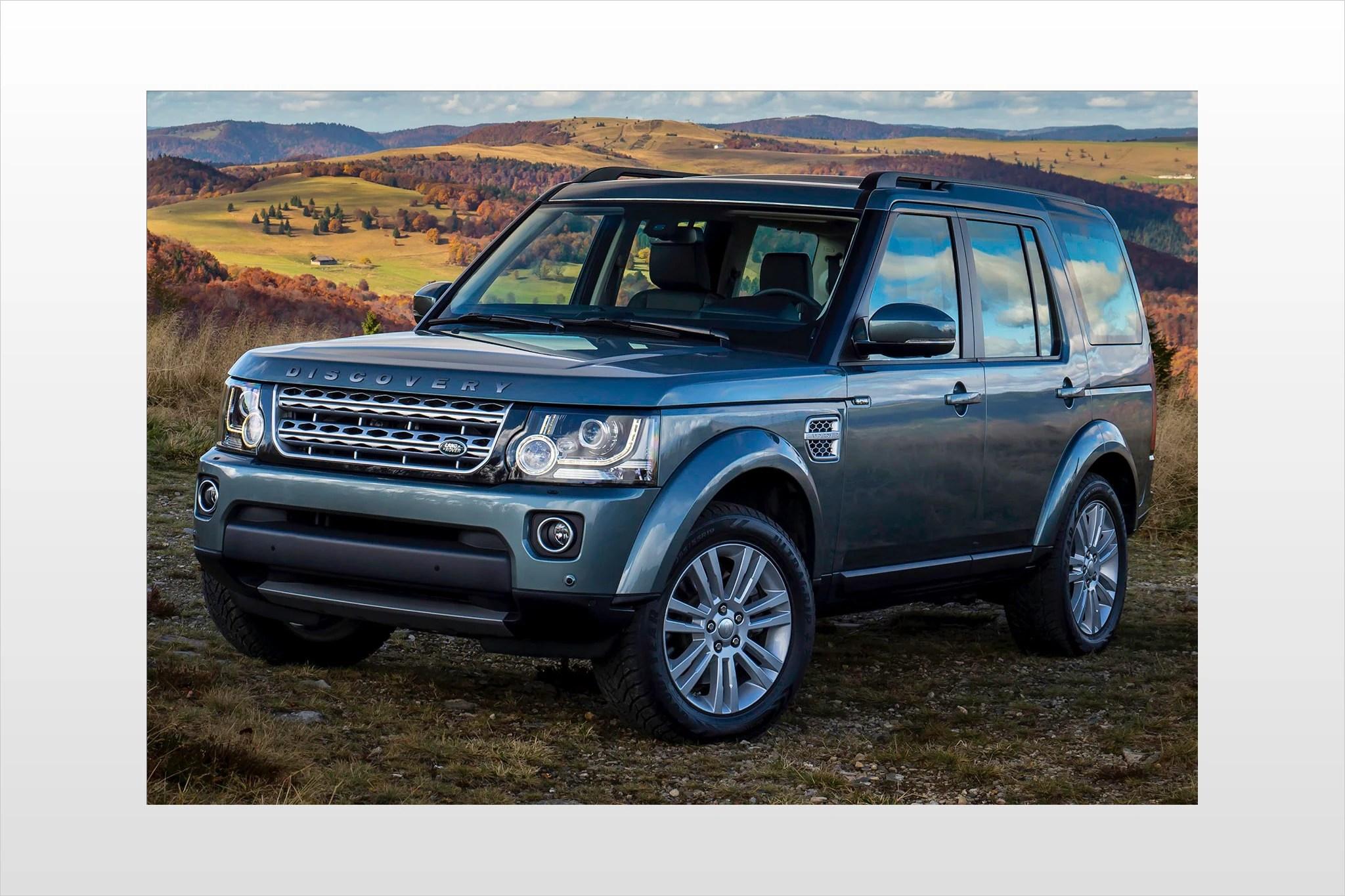 Maintenance Schedule for 2015 Land Rover LR4